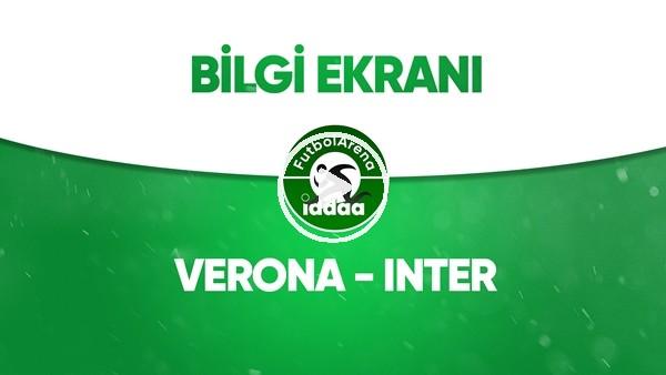 'Verona - Inter Bilgi Ekranı (9 Temmuz 2020)
