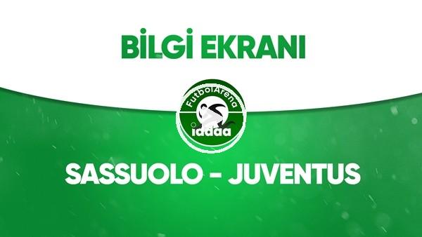 'Sassuolo - Juventus Bilgi Ekranı (15 Temmuz 2020)