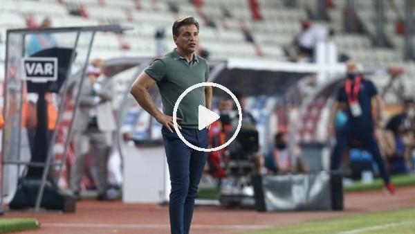 """'Tamer Tuna: """"İstediğimiz sonucu elde edemedik, Podolski'nin sakatlığı maçın kaderini etkiledi"""""""