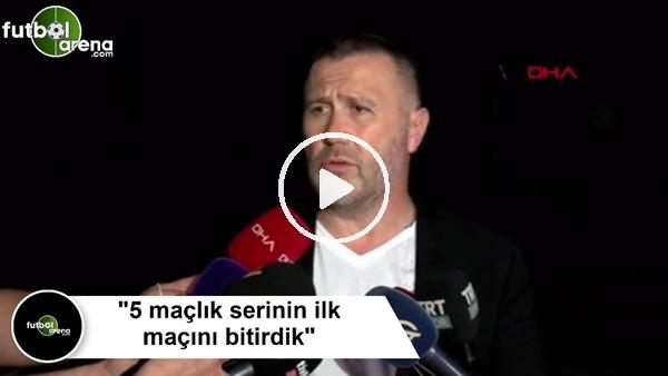 """'Mehmet Yiğit Alp: """"5 maçlık serinin ilk maçını bitirdik"""""""