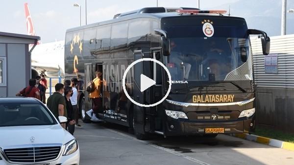 'Galatasaray kafilesi Antalya'da