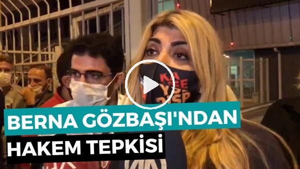 """'Kayserispor Başkanı Berna Gözbaşı: """"Hakem Şiddetine Artık Dur Demek Lazım!"""""""