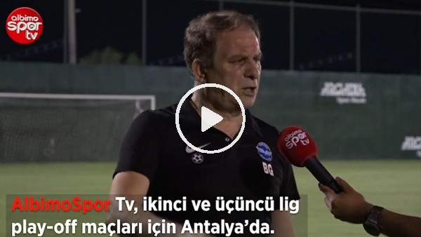 """Bahaddin Güneş'ten Albimo Spor TV'ye Önemli Açıklamalar   """"Şenol Güneş Ağabeyim Diye..."""""""