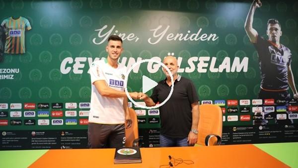 'Aytemiz Alanyaspor, Ceyhun Gülselam ile sözleşme yeniledi