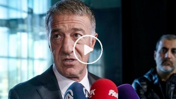 """'Ahmet Ağaoğlu: """"Bir asgari ücretlinin 20 yıllık maaşını bu sezon ceza için ödedim"""""""