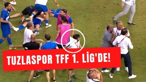 'Tuzlaspor TFF 1. Lig'de! | Futbolcuların Şampiyonluk Sevinci