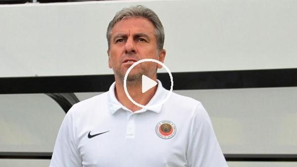 """'Hamza Hamzaoğlu: """"8 günde 3 maç oynamak kolay değil"""""""