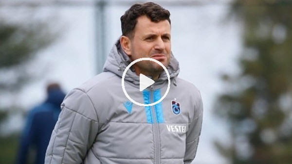 """'Trabzonspor'dan taraftarından Hüseyin Çimşir'e: """"Allah için bu takımı şampiyon yapın hocam"""""""