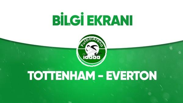 'Tottenham - Everton Bilgi Ekranı (6 Temmuz 2020)