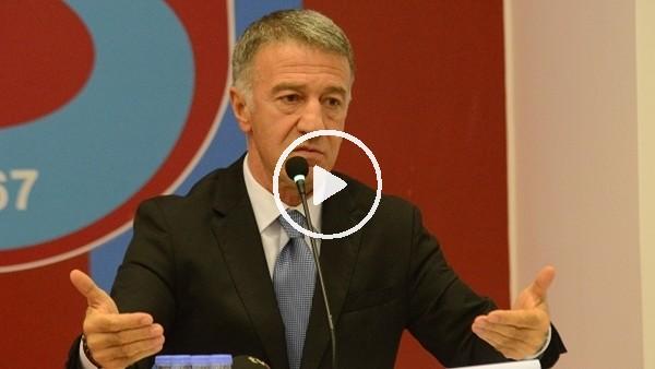 """'Ahmet Ağaoğlu: """"Rezerv lig konusu 8 aydır çözülemedi ama bu karar 8 saatte alındı"""""""