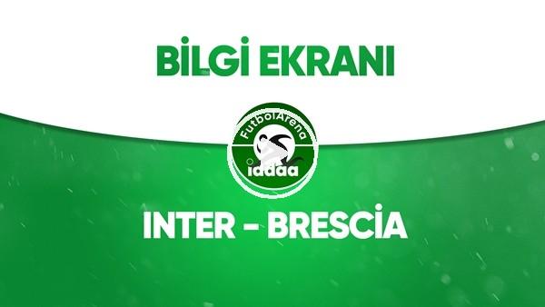'Inter - Brescia Bilgi Ekranı (1 Temmuz 2020)