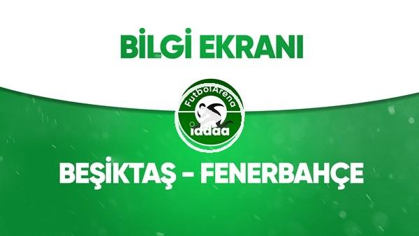 Beşiktaş - Fenerbahçe Bilgi Ekranı (19 Temmuz 2020)