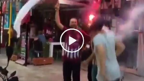 'Hataysporlu taraftarların Süper Lig sevinci