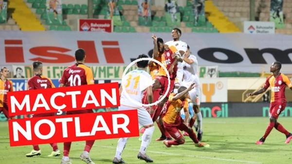 'Aytemiz Alanyaspor - Galatasaray Maçından Notlar | Kim, Nasıl Oynadı?