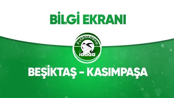 'Beşiktaş - Kasımpaşa Bilgi Ekranı (9 Temmuz 2020)