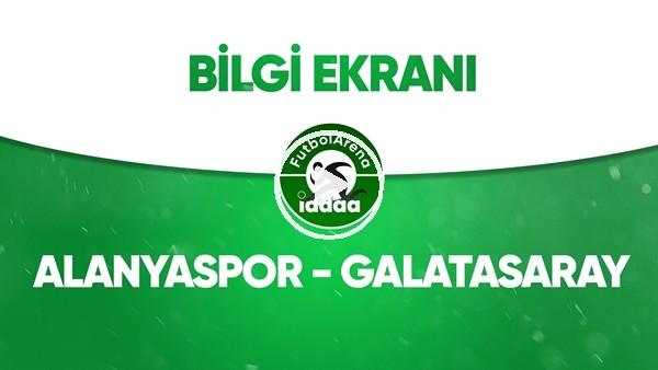 'Aytemiz Alanyaspor - Galatasaray Bilgi Ekranı (8 Temmuz 2020)