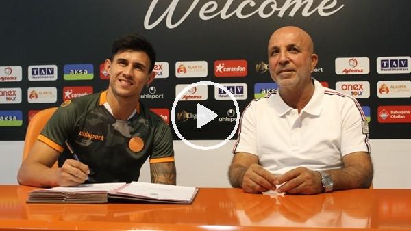 'Aytemiz Alanyaspor, Adam Bareiro ile 1 yıllık sözleşme imzaladı
