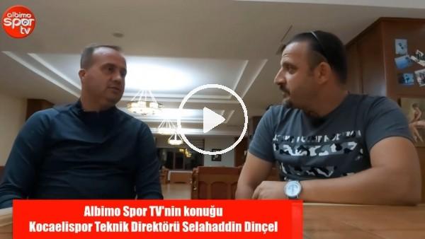 """'Kocaelispor Teknik Direktörü Selahaddin Dinçel: """"Burak Süleyman, Göztepe'de İnşallah Başarılı Olur"""""""