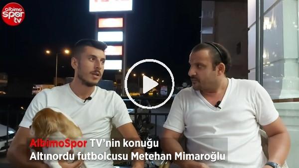 """'Altınordulu Metehan Mimaroğlu: """"Bu sene bizim adımıza talihsiz bir sezon oldu"""""""