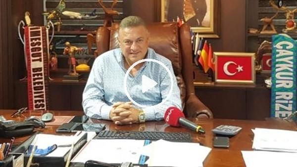 """'Hasan Kartal: """"Rizespor düşseydi, küme düşme kalkar mıydı?"""""""