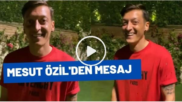 """'Mesut Özil'den Mesaj! """"Hazırım Acun Abi.."""""""