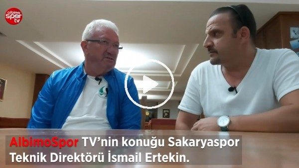 """'Sakaryaspor Teknik Direktörü İsmail Ertekin: """"Tecrübeli Oyuncular Almamız Gerekiyor"""""""