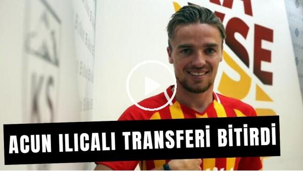 'Acun Ilıcalı, Ben Rienstra Transferi İçin Kayserispor İle Anlaştı