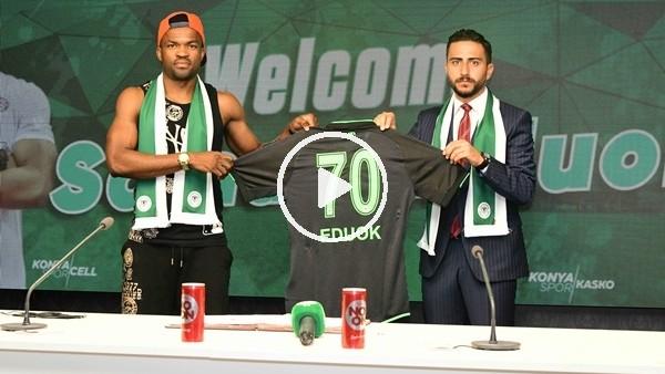 'Konyaspor Eduok'u kiraladı