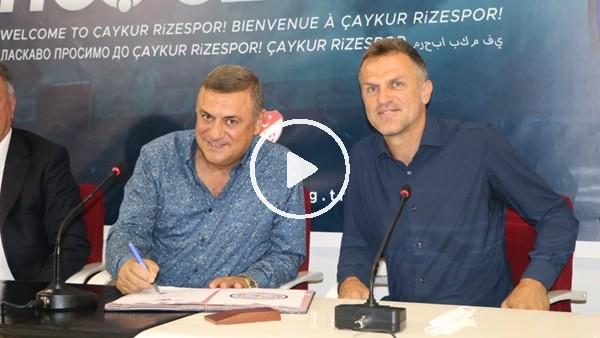 'Çaykur Rizespor'da Stjepan Tomas dönemi resmen başladı