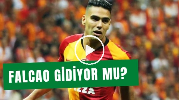 'Rademel Falcao Gidiyor Mu? Galatasaray Yönetiminin Düşüncesi..