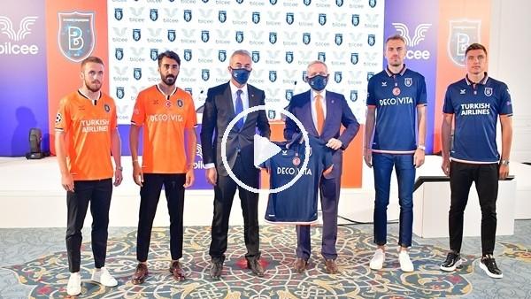 'Başakşehir yeni sezon formalarını tanıttı
