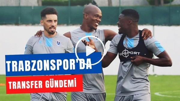 'Trabzonspor Transfer Gündemi | Ekuban Ve Jose Sosa Takımda Kalacak Mı?