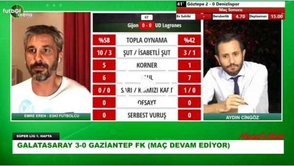 'Maç Günü | Emre Eren'den Gaziantep FK'lı Futbolculara Eleştiri