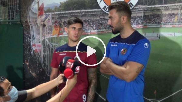 """'Adam Bareiro: """"Alanyaspor tarihinin Avrupa'da ilk maçı olacak, tur atlamaya çalışacağız"""""""