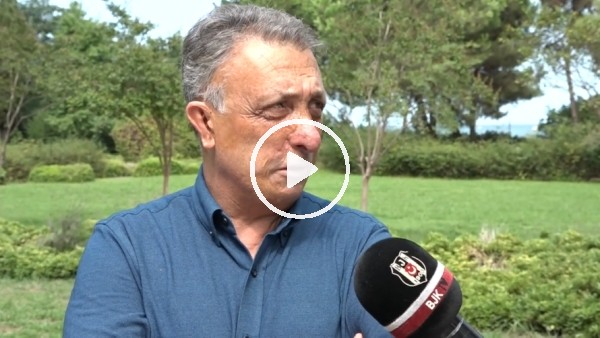 'Ahmet Nur Çebi'den Trabzonspor maçı öncesi açıklamalar