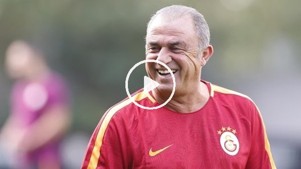 'Derbi sorusu Fatih Terim'i gülümsetti!