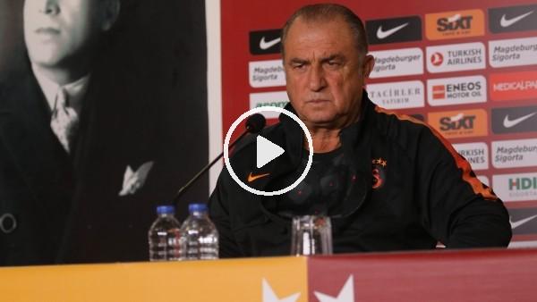 "'Fatih Terim: ""Galatasaray seyircisiz oynamaya alışkın olamaz"""