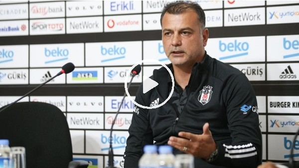 """'Murat Şahin 'Evimizde oynamanın avantajını kullanmak istiyoruz"""""""