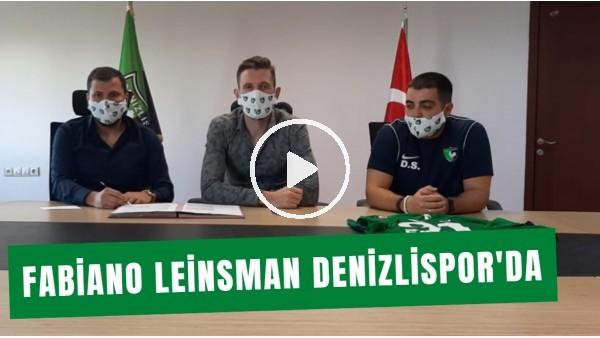 'Denizlispor, Fabiano Leinsmann İle 2 Yıllık Sözleşme İmzaladı