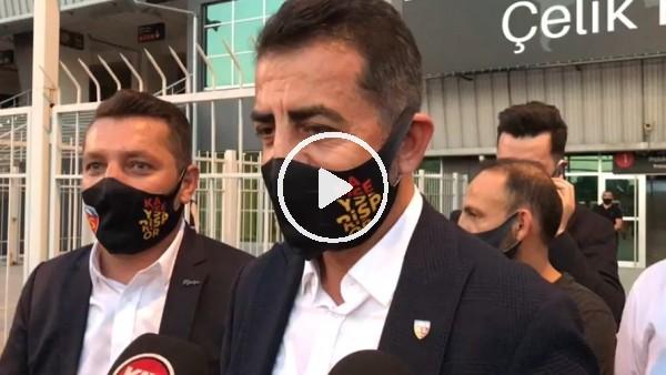 """'Ali Kaynar: """"Ligde bu sezon adı geçen bir Kayserispor olacak"""""""