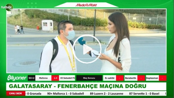 'Galatasaray - Fenerbahçe Derbisine Doğru | Ali Naci Küçük Aktardı