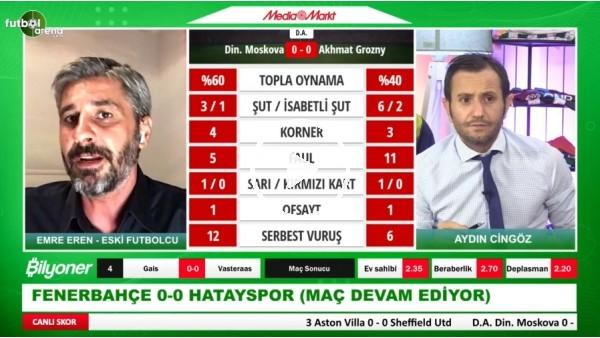 "'Emre Eren: ""Fenerbahçe'nin Garry Rodrigues'i Kaybetmesi Büyük Kayıp"""