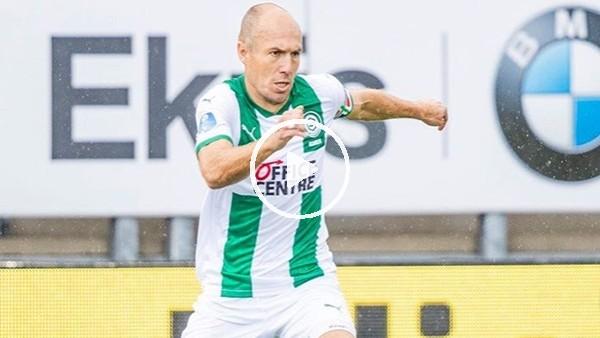 36 yaşındaki Robben'den şık gol