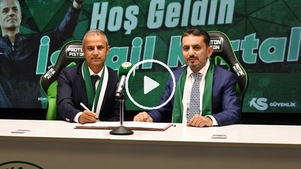 'Konyaspor, İsmail Kartal ile sözleşme imzaladı