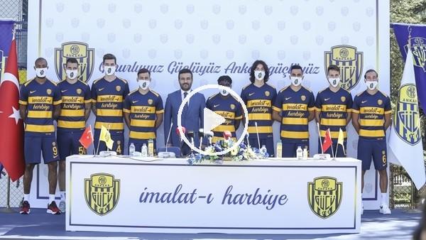 'Ankaragücü, 9 transfer için imza töreni düzenledi