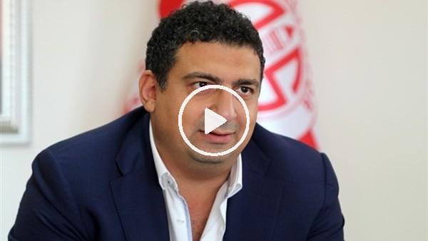 """'Ali Şafak Öztürk: """"2. yarıdaki futbolla galibiyete yakın olan bizdik"""""""