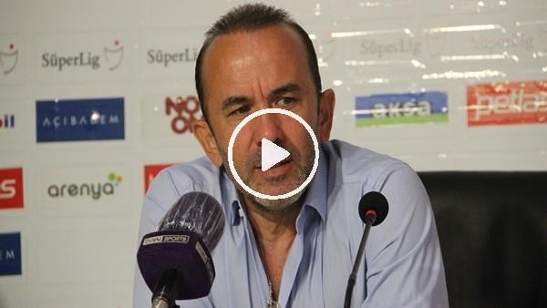 """'Mehmet Özdilek: """"İyi oynayarak kaybetmek çok üzücü"""""""