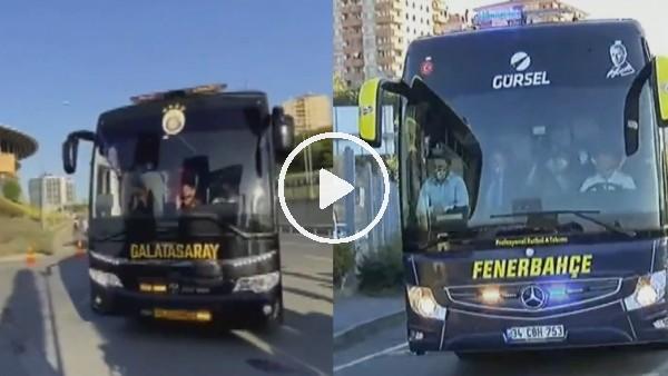 'Galatasaray ve Fenerbahçe derbi için stada geldi