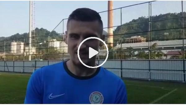 """'Emir Dilaver: """"Türkiye'de Falcao ve başka isimler gibi büyük golcülerin oynadığını biliyordum"""""""