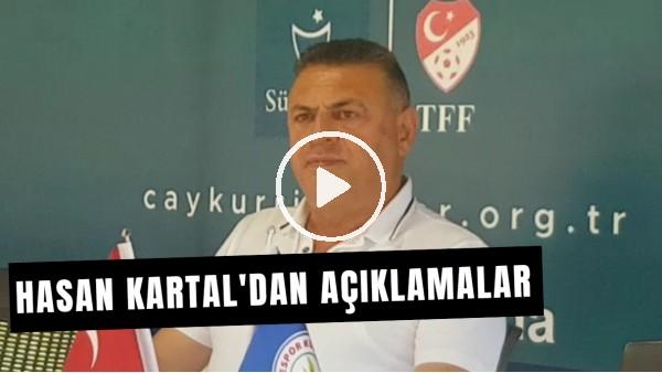 """Çaykur Rizespor Başkanı Hasan Kartal'dan Açıklamalar! """"Beşiktaş'ın Gökhan Akkan'ı İstediği Doğru..."""""""